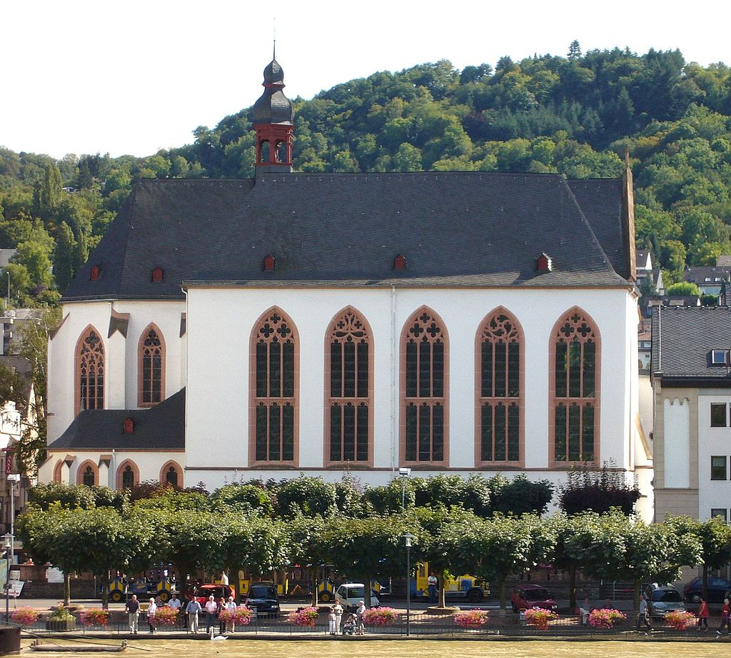 The church of the former Carmelite convent (Karmeliterkirche) in Boppard on the Rhine.