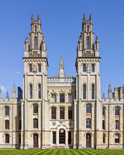 Antonio Chemotti gave a lecture at All Souls College in Oxford.