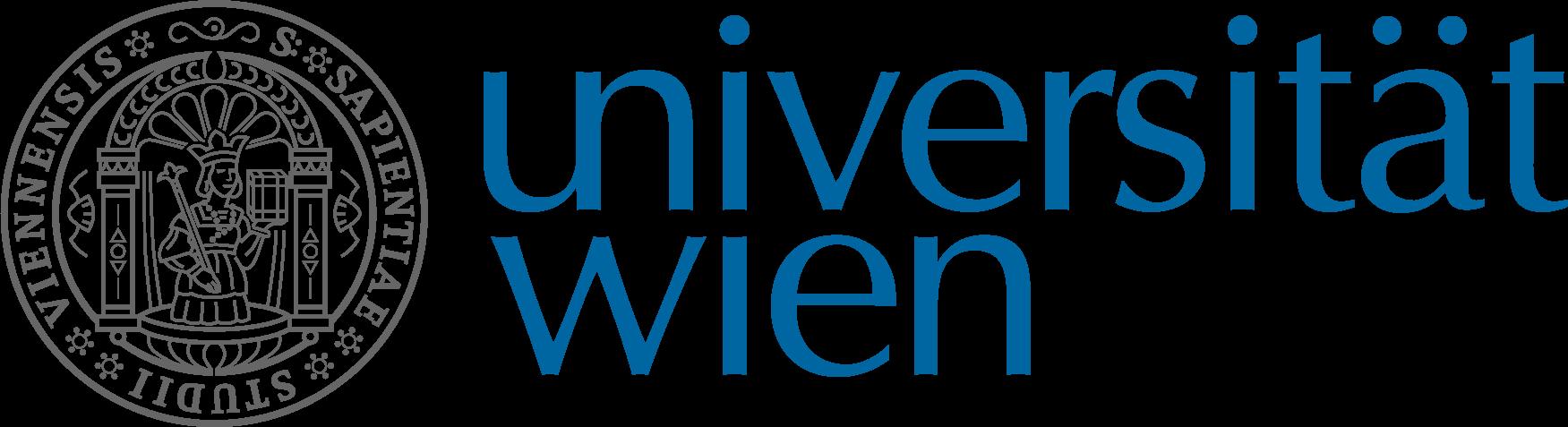 Logo of Vienna University, where Antonio Chemotti will be Visiting Fellow.